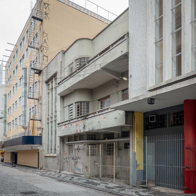 Casa do Jornaleiro - Prédio Anita Ribas - fachada na Rua Saldanha Marinho