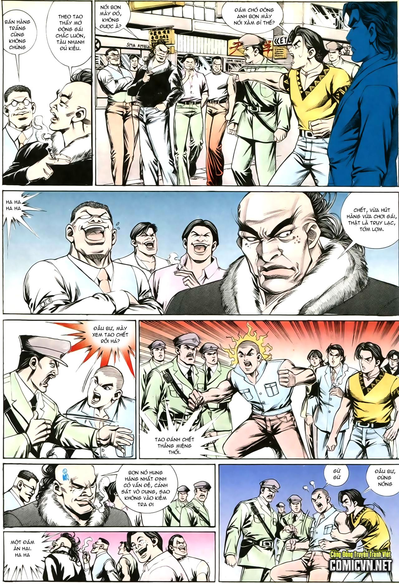 Người Trong Giang Hồ chapter 202: đối đầu trang 7