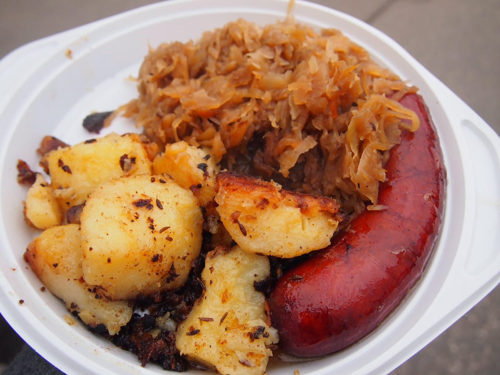Lithuanian street food