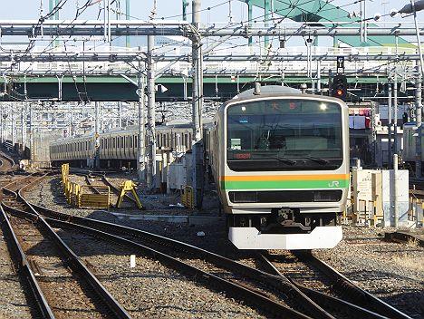 大宮行き E231系