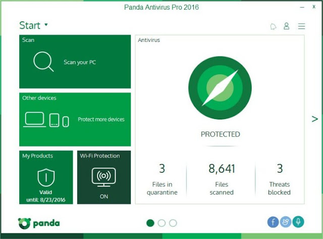 panda antivirus pro 2016 activation code