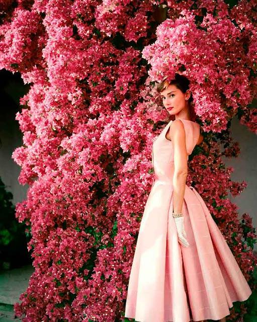 Audrey Hepburn Dior 1955