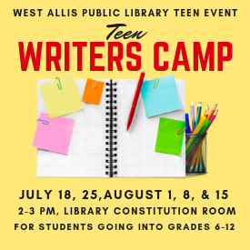 Teen Writers Camp