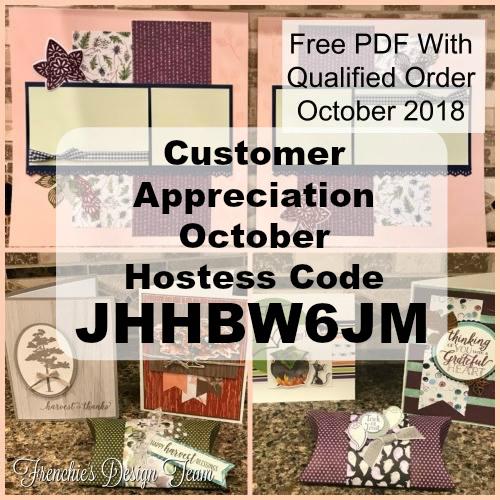 Customer Appreciation, PDF, FREE, October PDF