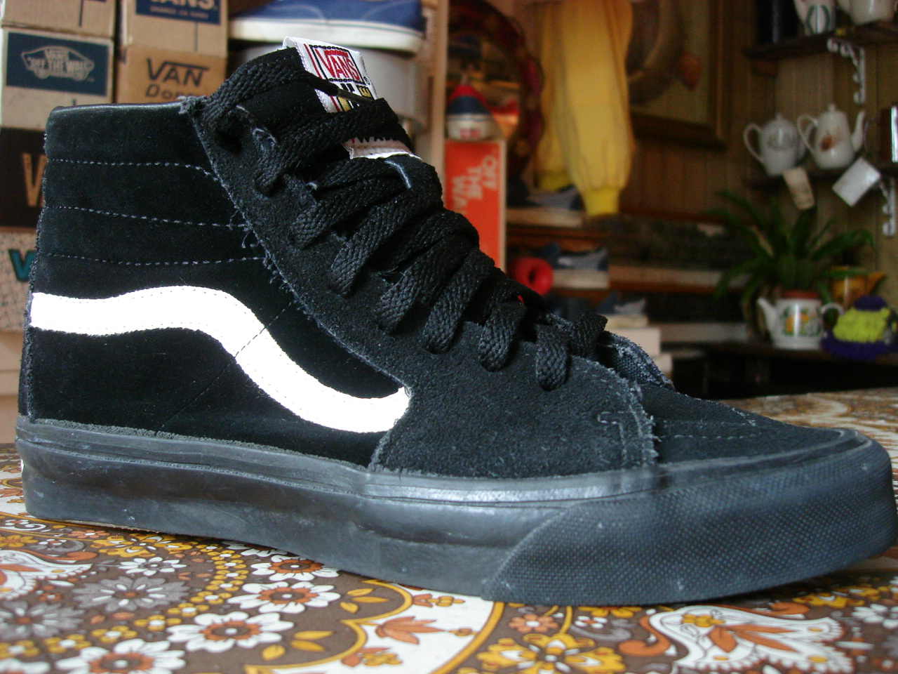 Vans Off The Wall Custom Shoes