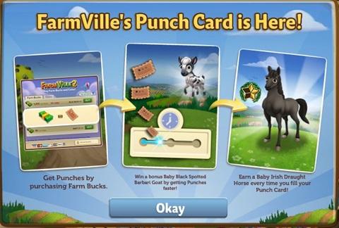 Farmville 2 Punch Card 2017 | FarmVille 2 Info