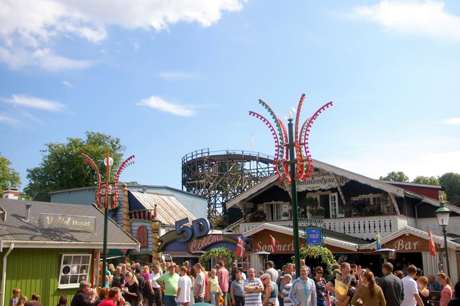 Denmark Diary 2 The World S Oldest Amusement Park