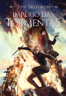 IMPÉRIO DAS TORMENTAS (Jon Skovron)