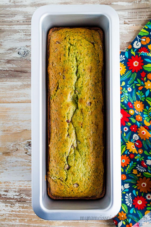 Spinach banana bread with chocolate chips mandys recipe box this year im trying to incorporate more veggies into my familys food so i decided to try adding spinach to my favorite banana bread recipe forumfinder Images