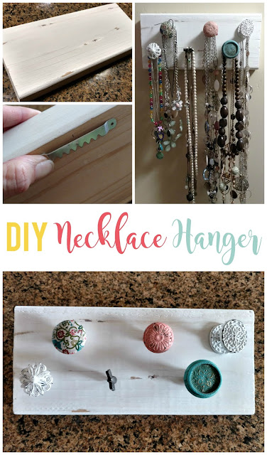 Top 10 posts of 2017: DIY Necklace Hanger