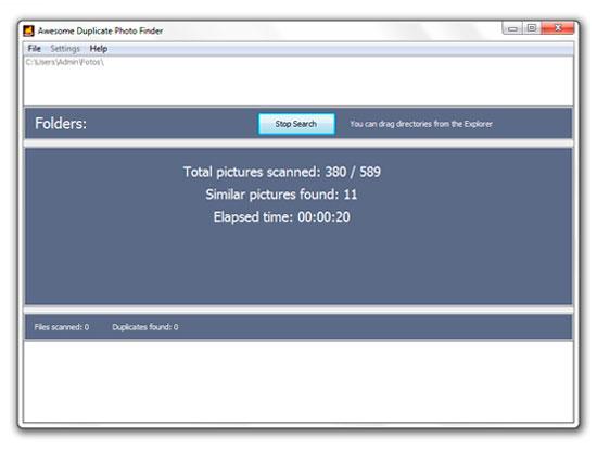 Find Similar or Exact Duplicate Photos 06