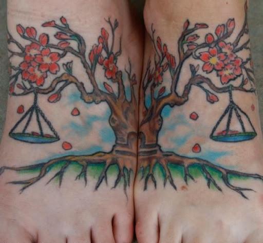 A árvore da vida e seus balanços