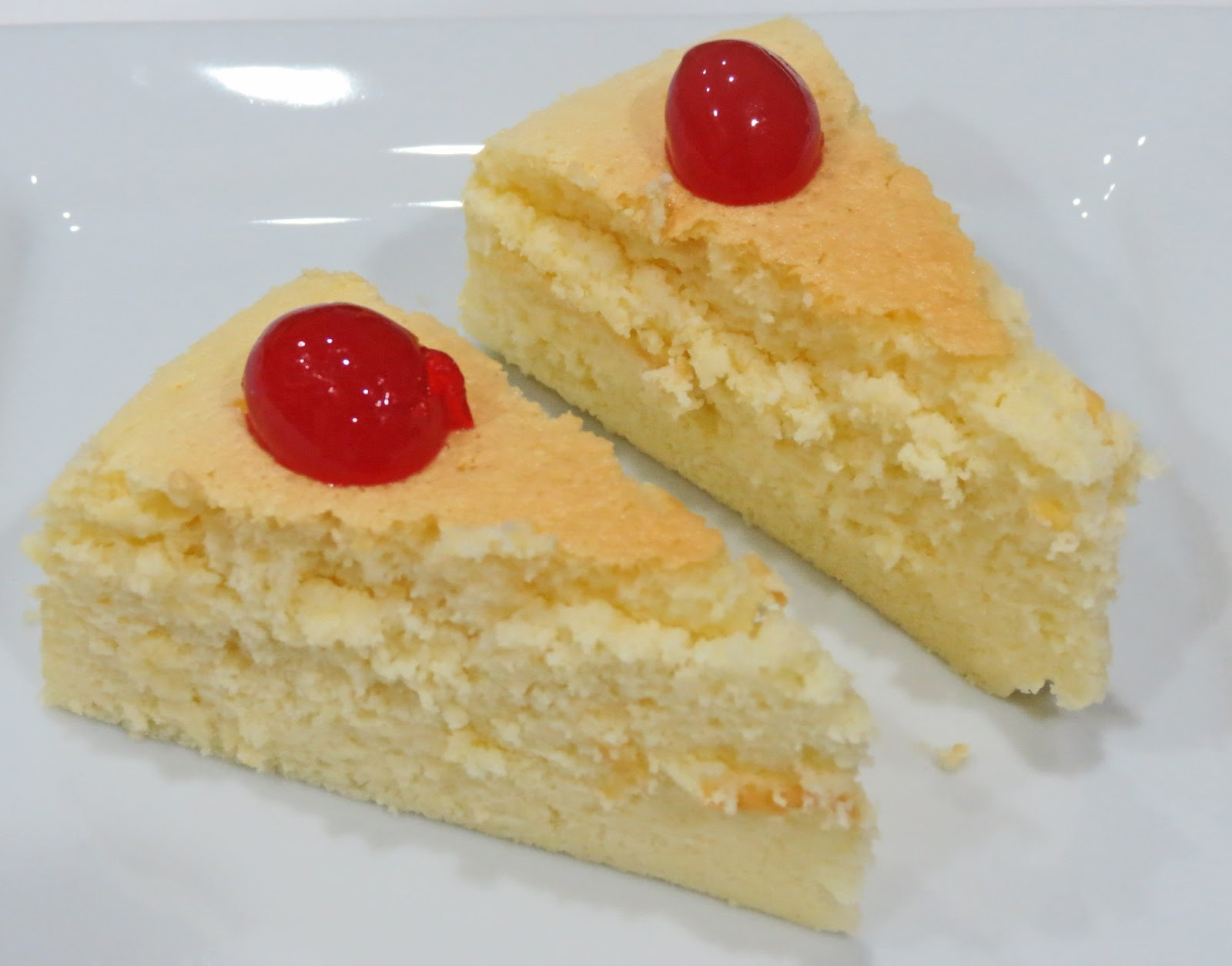 Recipes From Manju S Kitchen Japanese Cheese Cake