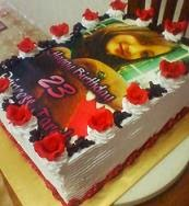 Blackforest Cream Cake with EDIBLE IMAGE
