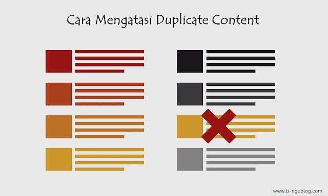 Panduan Lengkap 4 Cara Menghindari Dan Mengatasi Duplicate Content Di Blogger