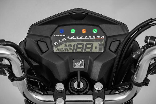 Honda CG 160 Titan 2017 - painel