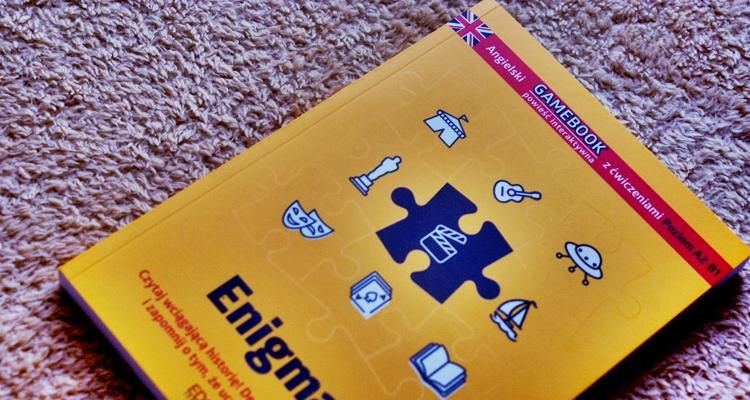 Enigmas Gamebook z ćwiczeniami