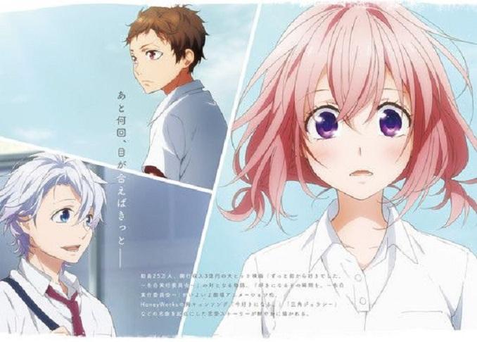 "Film adaptasi dari seri Kokuhaku Jikkou Iinkai: Renai, besutan HoneyWorks. Film inimengambil cerita dari lagu HoneyWorks yang berjudul ""Ima Suki ni Naru"" dan ""Sankaku Jealousy""."