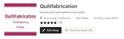 QuiltFabrication Etsy shop header