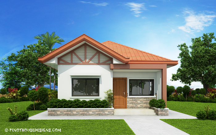 Single Floor Low Cost Single Storey Simple House Design House Storey