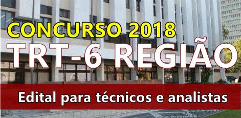 edital-trt-da-6-regiao-concurso-publico-2018