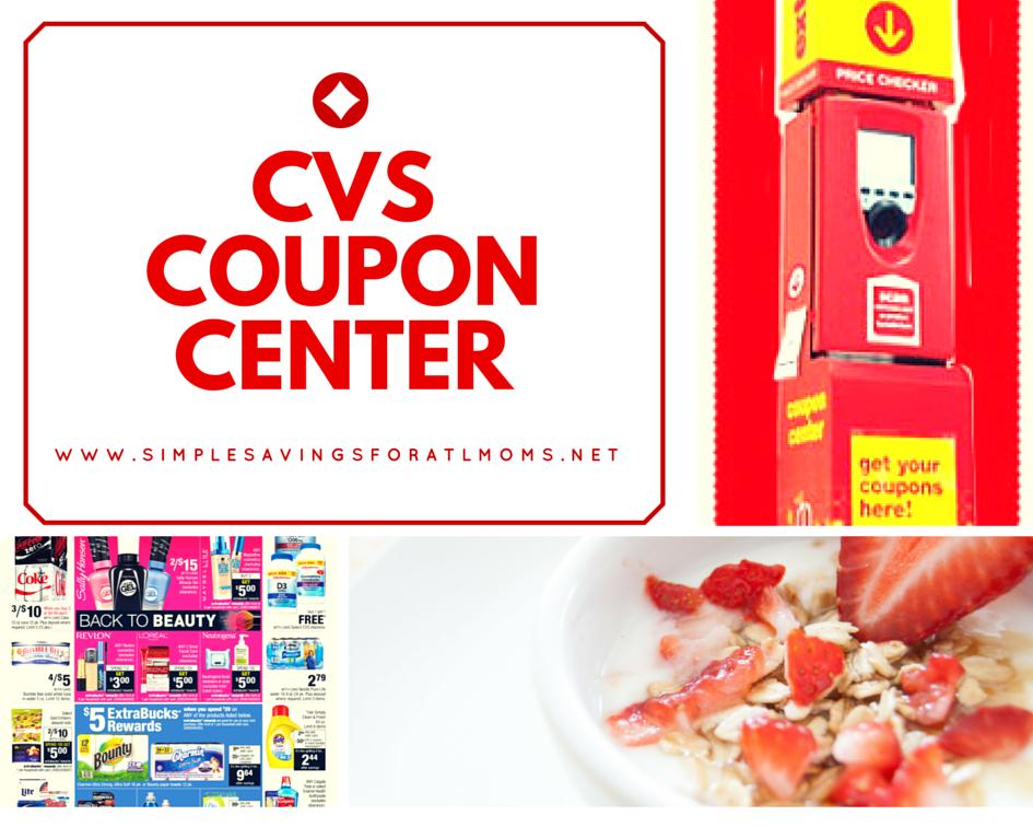 CVS ExtraCare Coupon Center Deals: Week of 2|29|16 -