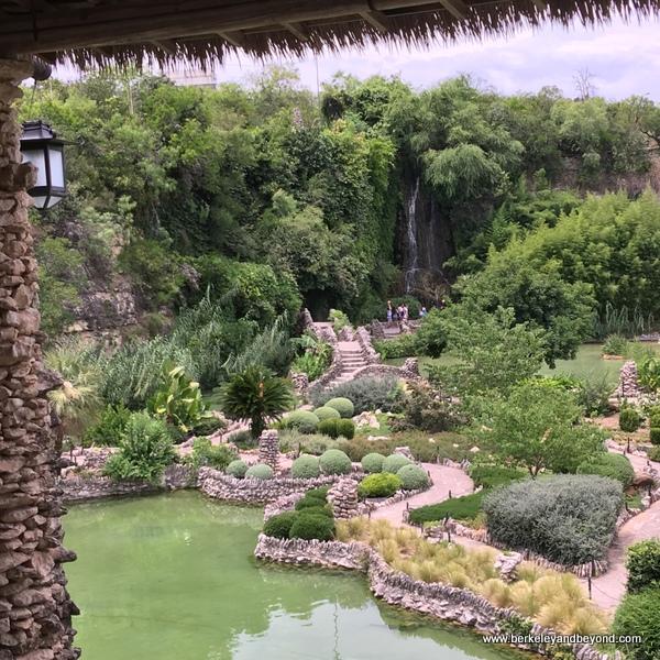 overview of Japanese Tea Garden in San Antonio, Texas