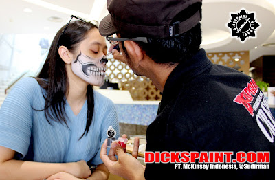 Make Up Horror Halloween jakarta