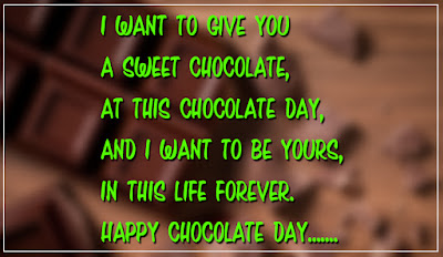 Happy chocolate day 2017 Messages