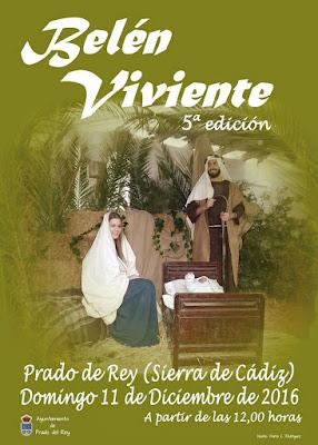 Belén Viviente de Prado del Rey (Cádiz) 2016