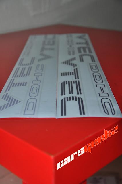 Honda Civic EG/EK | DOHC VTEC vinyl 7