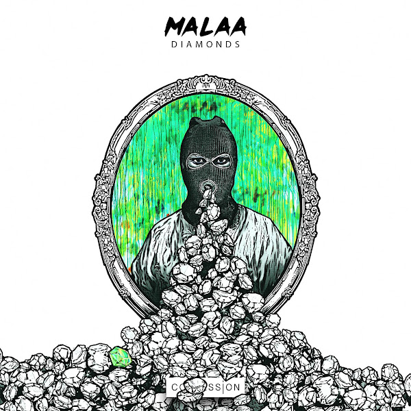 Malaa - Diamonds - Single Cover