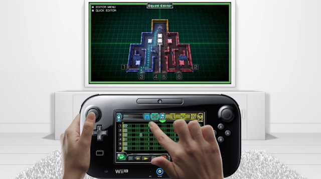 Star Fox Guard weird finger position GamePad Wii U