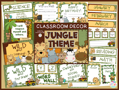 Jungle Themed Classroom Ideas jungle theme classroom The Creative