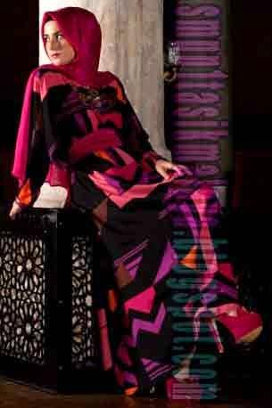 Gambar Model Model Baju Muslimah Terbaru 2017