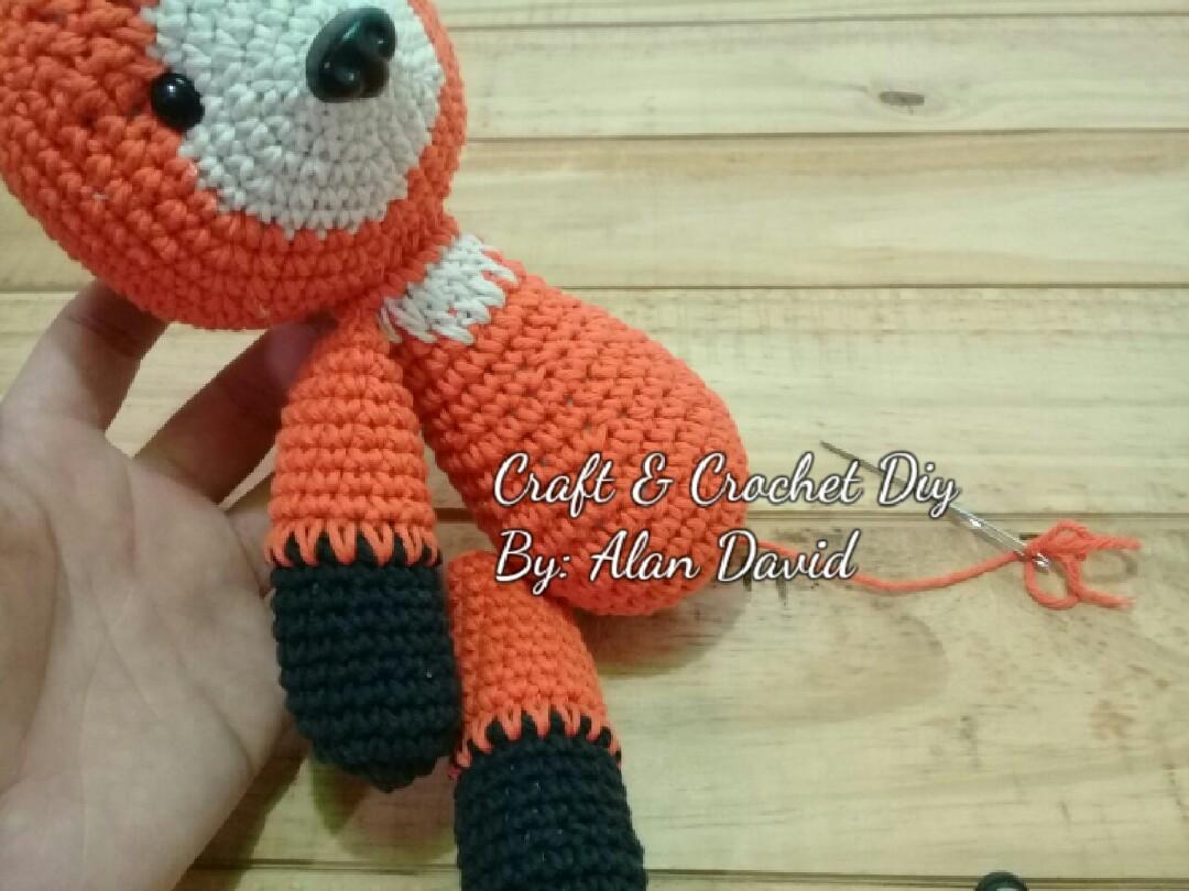 Zorro amigurumi del principito tejido a crochet paso a paso - YouTube | 810x1080