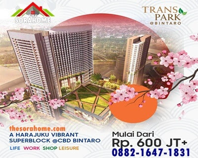 Di zona Trans Park Bintaro pula hendak terkoneksi dengan 6 lantai life gaya entertainment center. Sehingga, penunggu bisa berbelanja sampai melancong dalam satu zona. Salah satunya terdapat Trans Snow World, jadi mal ini terintegrasi dengan apartemen. Mal ini hendak dibuka di akhir tahun ini, 2019.