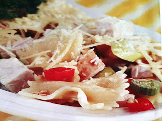 Gambar Resep Salad Ayam Pasta Farfalle