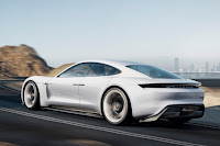 Porsche Mission E Concept (2015) Rear Side