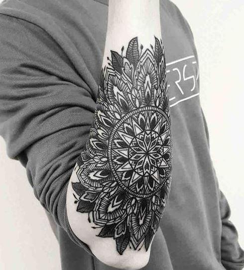 elbow Tattoos For Men