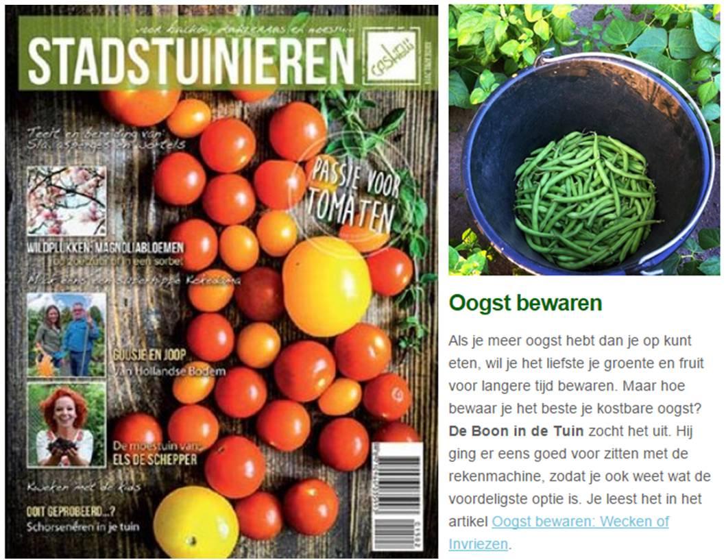 cashew stadstuinieren magazine nieuwsbrief