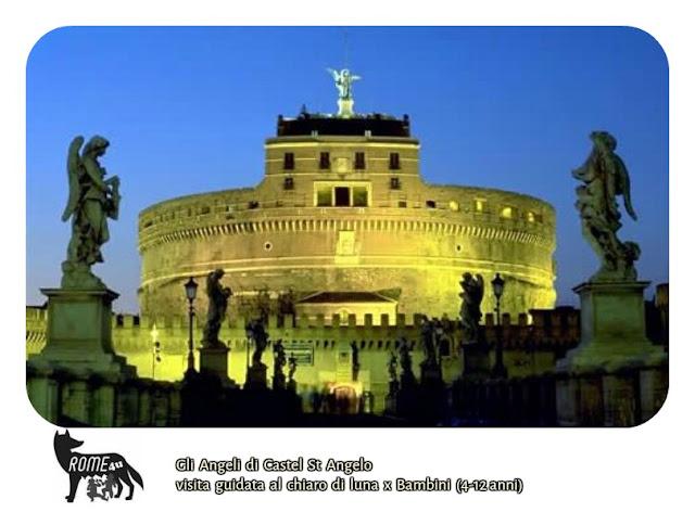 Gli Angeli di Castel Sant'Angelo Visita guidata per bambini