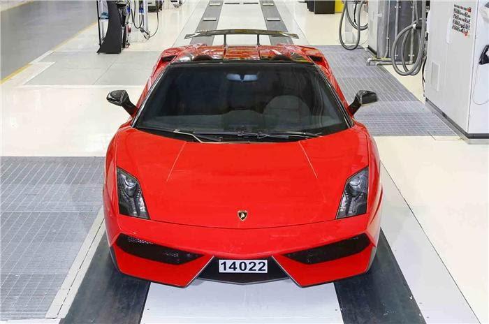 Lamborghini Gallardo final car