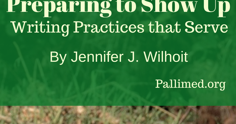 Preparing to Show Up: Writing Practices that Serve
