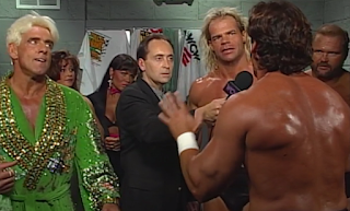 WCW FALL BRAWL 1996 REVIEW: Sting confronts Luger, Flair, and Arn Anderson