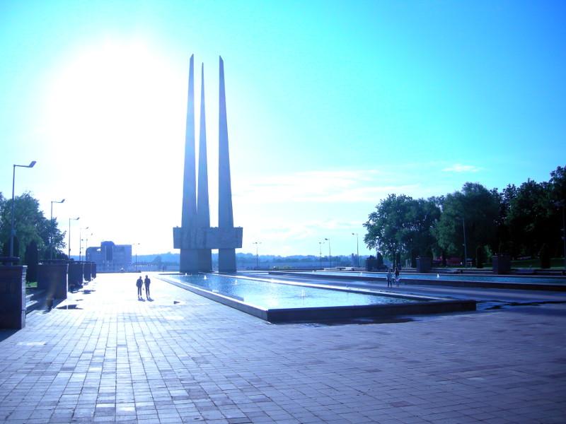 Витебск мемориал победы