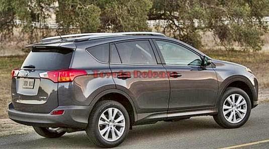 Toyota RAV4 Hybrid 2015 Price and Space