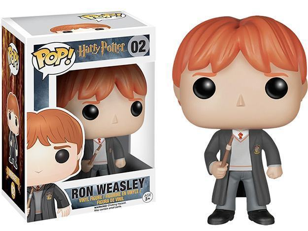 Boneco Funko Pop Harry Potter Ron Weasley