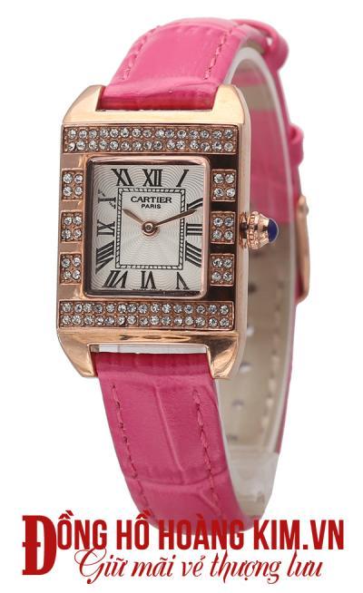 đồng hồ nữ dây da đẹp năng động