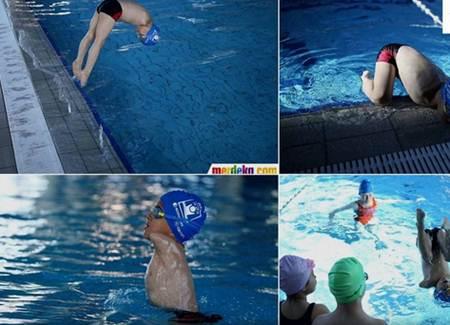 bocah jago berenang